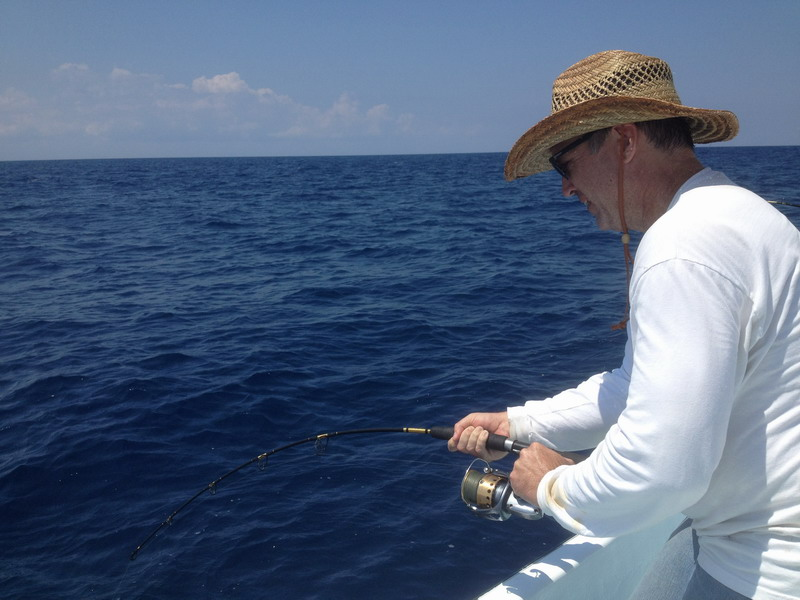 fishing guide in riviera maya mexico